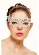 Chiara Masquerade Mask with Crystals inset 3