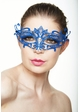 Colorful Goddess Masquerade Mask with Crystals inset 4