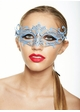 Colorful Goddess Masquerade Mask with Crystals inset 1
