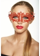 Colorful Goddess Masquerade Mask with Crystals inset 2