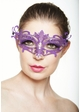 Colorful Goddess Masquerade Mask with Crystals inset 3