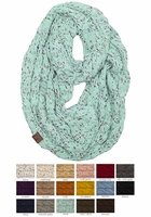 Confetti Yarn Knit Scarf from CC Brand