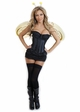 Corset Honey Bee Costume with Skirt, Antennae and Wings inset 1