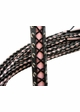 Corset Lace-Up Cat O' Nine Tails Flogger inset 1