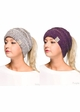 CC Cotton 365 Confetti BeanieTails Hat with Open Ponytail  inset 1