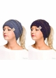CC Cotton 365 Confetti BeanieTails Hat with Open Ponytail  inset 3
