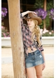Cowgirl Hat with Frayed Edge inset 1
