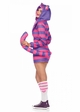 Cozy Fleece Cheshire Cat Costume inset 1