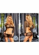 Cropped Fishnet Top and Skirt inset 1
