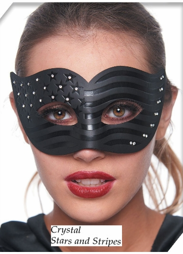 Crystal Stars and Stripes Mask