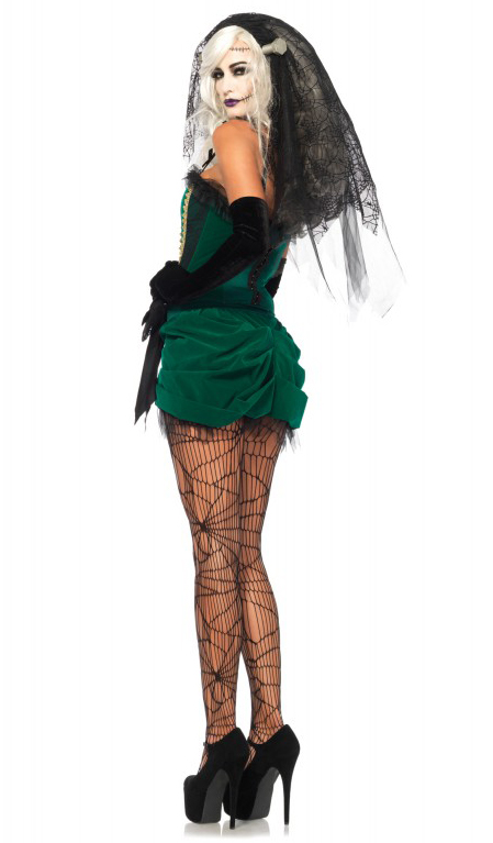 Sexy bride of frankenstein costume