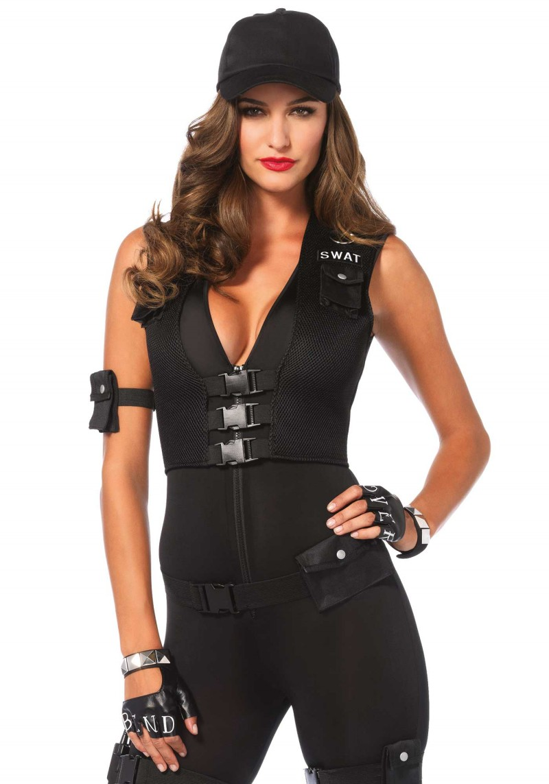 deluxe swat commander halloween costume inset 2
