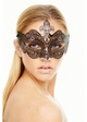 Desert Rose Masquerade Mask with Gems inset 2