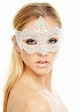 Desert Rose Masquerade Mask with Gems inset 1
