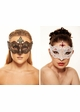 Desert Rose Masquerade Mask with Gems inset 4
