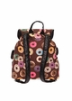 Donuts Print Canvas Backpack inset 2