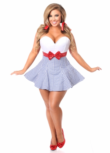 Dorothy Corset Dress Costume up to Size 6X