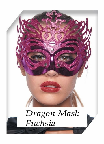 Dragon Metallic Mask