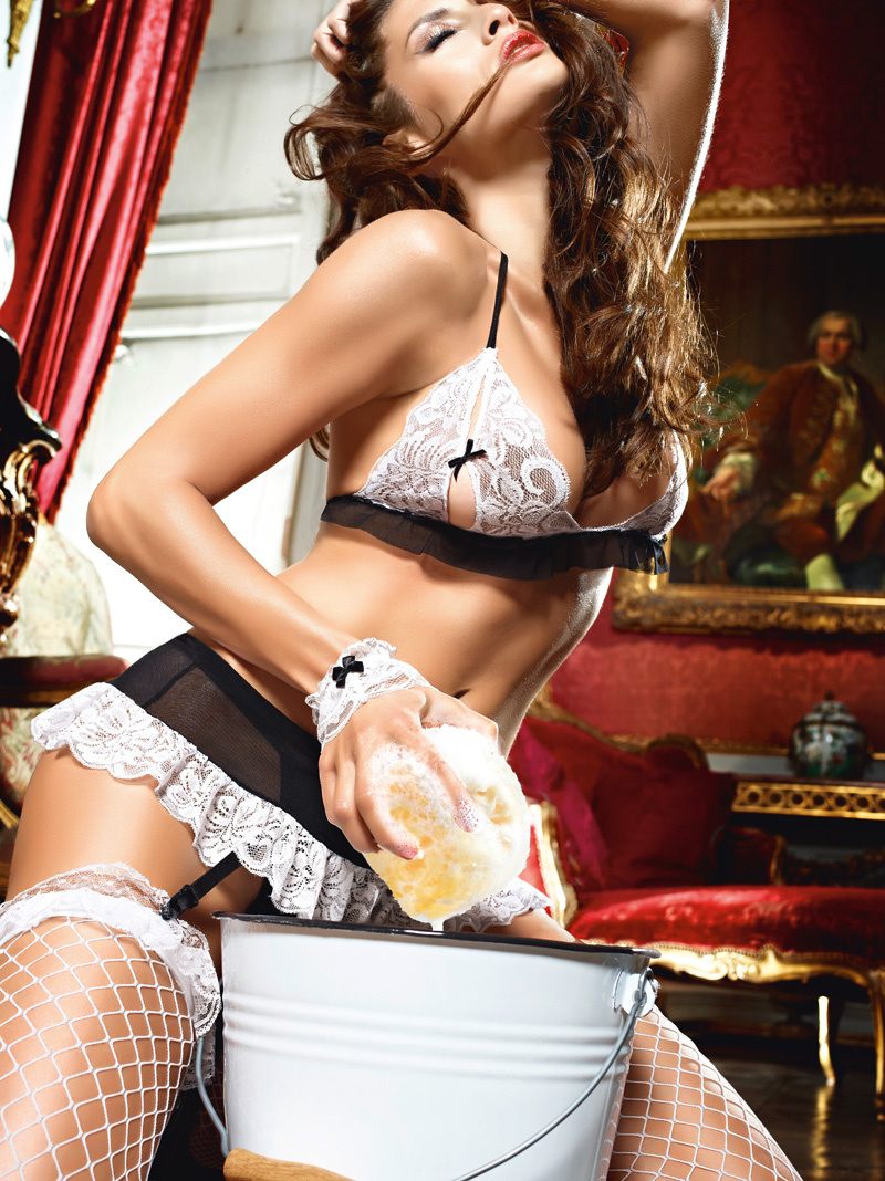 Sexy french maid lingerie
