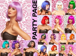 Party Page- Edgy Page Wig