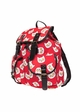 Egg Cat Canvas Backpack by Zohra inset 1