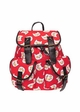 Egg Cat Canvas Backpack by Zohra inset 2