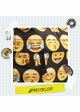 Emoticon Print Backpack by Zohra inset 3