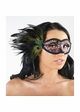 Eyes Have It Masquerade Mask with Peacock Feathers inset 4