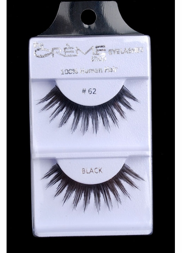 False Lashes with Supreme Length and Base Volume