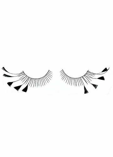 Feathered Tips False Eyelashes
