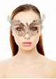 Fire and Ice Jewelled Masquerade Mask inset 3