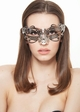 SALE Firefly Masquerade Mask with Crystals inset 3