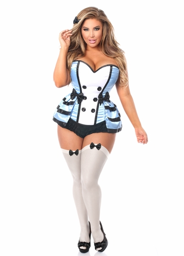 Flirty Alice Corset Costume up to Size 6X