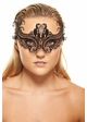 Floral Scroll Laser Cut Masquerade Mask inset 2