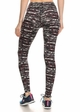 Four Way Stretch Athletic Leggings in Abstract Pattern inset 2