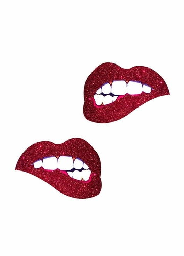 Freaking Awesome Bite Me Lips Pasties