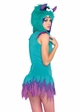 Fuzzy Frankie Moster Halloween Costume inset 1