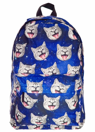 Galaxy Cat Backpack
