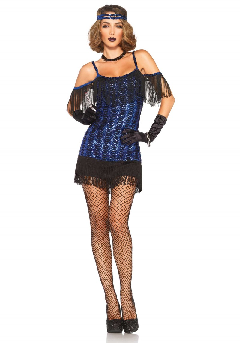 gatsby flapper halloween costume from leg avenue. Black Bedroom Furniture Sets. Home Design Ideas