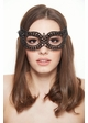 Glimmer Crystal Masquerade Mask inset 1