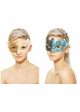Glitter Scroll Masquerade Mask inset 4