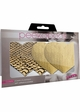 Gold Heart Self Adhesive Pasties inset 1