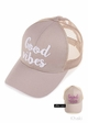 Good Vibes Color Changing CC Baseball Hat inset 2
