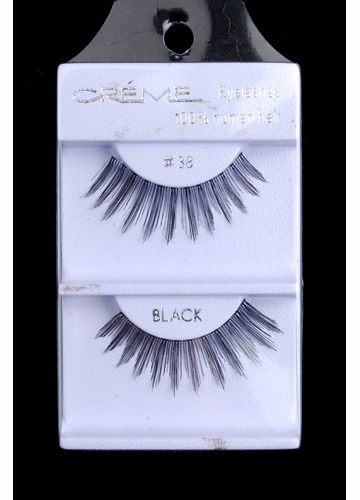 Graduated Length Textured Human Hair Lashes
