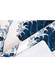 Great Waves Beach Towel by Zohra inset 3