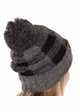 Grey Buffalo Checker Lined CC Beanie Hat with Pom inset 2