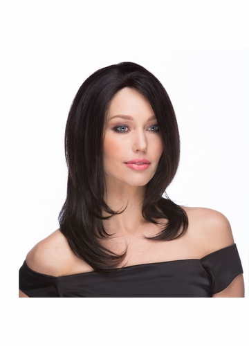 Hand Tied 100% Human Hair Lace Front Wig Blanca