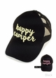 Happy Camper Color Changing CC Ponytail Baseball Hat inset 1