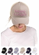 Happy Camper Color Changing CC Ponytail Baseball Hat inset 2