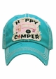 Happy Camper Patch Vintage Baseball Hat inset 1